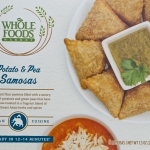 This is a photo of Whole Foods Market Potato and Pea Samosas.
