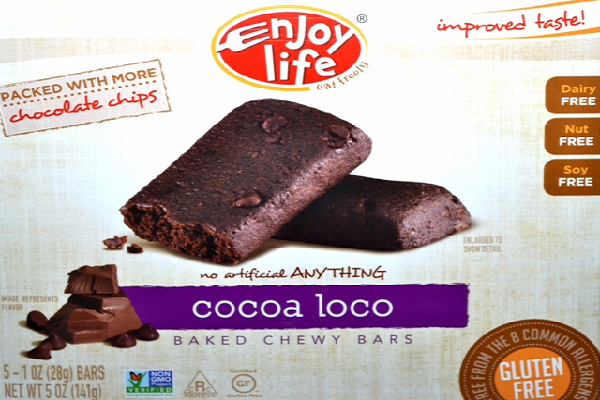 Cocoa Loco Baked Chewy Bars