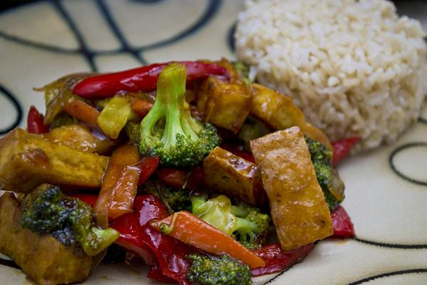 The VE Spot - Recipes - Asian Tofu Stir-Fry