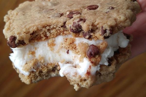Vanilla Dream Ice Cream Sandwich.