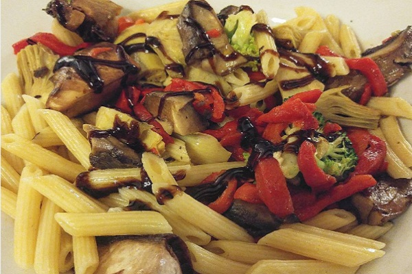 Pasta Primavera from Tony's Town Square Restaurant at Magic Kingdom.