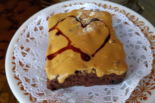 The Peanut Butter Brownie from The Witches Brew in West Hempstead, NY.