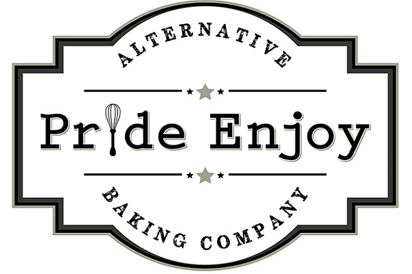 The Pride Enjoy Alternative Baking Company logo.